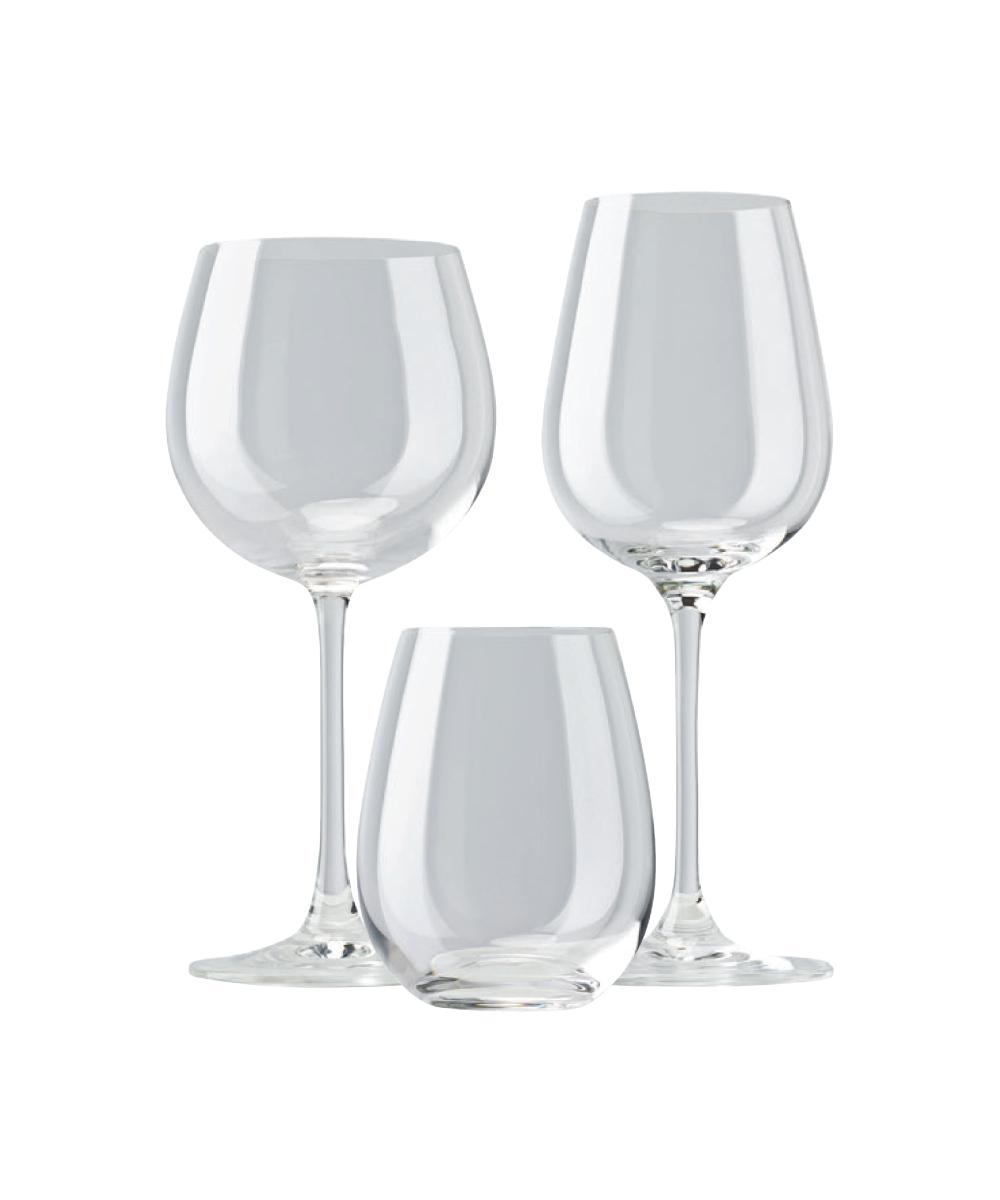 Calici Vino E Acqua rosenthal / divino glatt / set 12 bicchieri acqua o whisky e